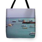 Sunray Harbor Tote Bag
