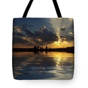 Sunray Sunset Tote Bag