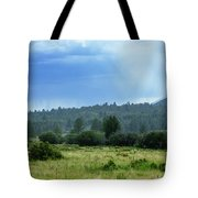 Sunray With Rain Tote Bag