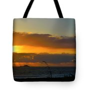 Sunrays And Clouds Tote Bag