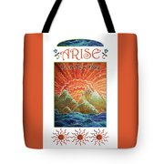 Sunrays - Arise New Day Tote Bag