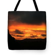 Sunrise 09 29 17 Tote Bag