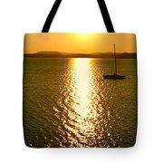 Sunrise 6 8 17 Malletts Bay Tote Bag