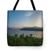 Sunrise Allegheny National Forest Tote Bag