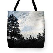 Sunrise Along The California Oregon Border Tote Bag