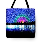 Sunrise And The City Tote Bag