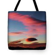 Sunrise Artwork Tote Bag