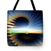 Sunrise At 30k  6 Tote Bag