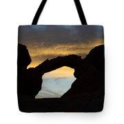 Sunrise At Arch Rock Tote Bag