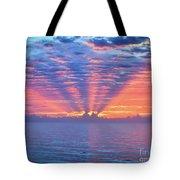 Sunrise At Atlantic Beach Tote Bag