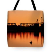 Sunrise At Burbank Tote Bag
