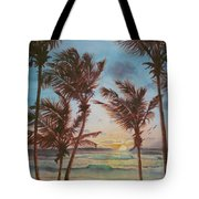 Sunrise At Cattlewash 3 Tote Bag