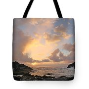 Sunrise At Cockroach Cove Tote Bag