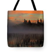 Sunrise At Connery Pond 1 Tote Bag