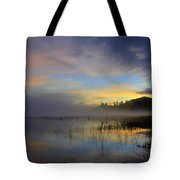 Sunrise At Connery Pond 3 Tote Bag