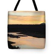 Sunrise At Crawley Lake Tote Bag