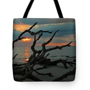 Sunrise At Driftwood Beach 2.2 Tote Bag