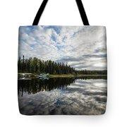 Sunrise At Fish Lake Tote Bag