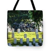 Sunrise At Gettysburg National Cemetery Tote Bag