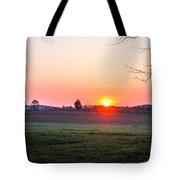 Sunrise At Gettysburg Tote Bag