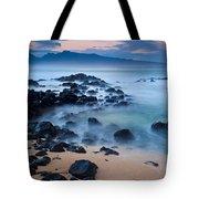 Sunrise At Ho'okipa - Sunrise At Hookipa Beach In Maui Tote Bag