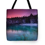 Sunrise At Indian Head Cove Tote Bag