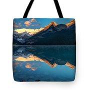 Sunrise At Lake Louise, Banff National Park, Alberta, Canada Tote Bag