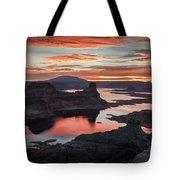 Sunrise At Lake Powell Tote Bag