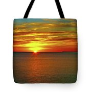 Sunrise At Matane Tote Bag