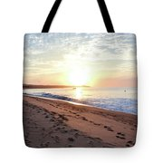 Sunrise At Medano Tote Bag