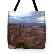 Sunrise At Mesa Arch - Canyonlands National Park - Moab Utah Tote Bag
