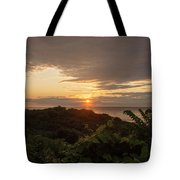 Sunrise At Montauk Point State Park Tote Bag