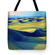 Sunrise At Oceano Sand Dunes  Tote Bag