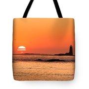 Sunrise At Odiorne Point 1 Tote Bag