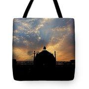 Sunrise At Rumi Gate Tote Bag