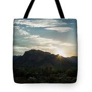 Sunrise At Sabino Canyon Tote Bag