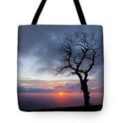 Sunrise At Saddle Overlook Tote Bag