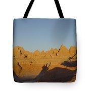 Sunrise At The Badlands, S.dakota, Usa Tote Bag