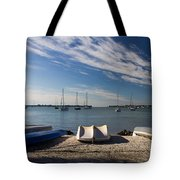 Sunrise At The Bay Tote Bag
