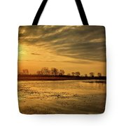 Sunrise At The Big Marsh Tote Bag