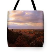 Sunrise At The High Rollaways Tote Bag