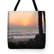 Sunrise At The Pipe Tote Bag
