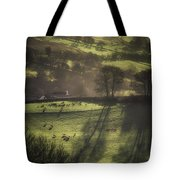 Sunrise At The Sheep Farm Tote Bag