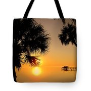 Sunrise At The Space Coast Fl Tote Bag
