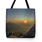 Sunrise At The Summit Tote Bag
