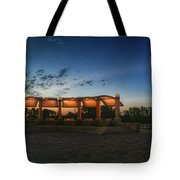 Sunrise At Veterans Memorial Park Tote Bag
