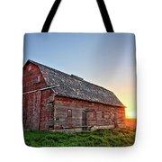Sunrise Barn Tote Bag