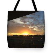 Sunrise Before Class Tote Bag