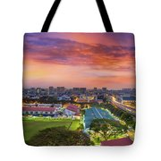Sunrise By Mrt Station In Eunos Singapore Tote Bag