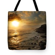 Sunrise By The Rocks Tote Bag